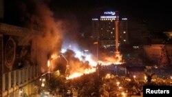 Praça da Independência, em Kiev