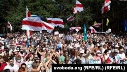 Митинг в Бресте. Photo: svoboda.org (RFE/RL)