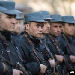 'yan sandan kasar Afghanistan
