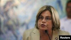 La presidenta del Comité de Relaciones Exteriores de la Cámara de Representantes, Ileana Ros-Lehtinen, emitió un aviso.