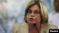 La presidenta del Comité de Relaciones Exteriores de la Cámara de Representantes, Ileana Ros-Lehtinen.