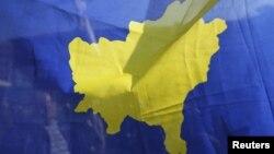 Ilustrativna fotografija - zastava Kosova (REUTERS/Ognen Teofilovski)