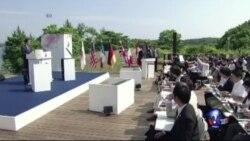 七国集团峰会强调全球经济发展是当务之急