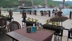 Дигитално мени во охридски ресторан