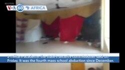 VOA60 Afrikaa - Nigeria: Gunmen in the northwest state of Kaduna kidnap around 30 students