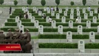 Triều Tiên dời hài cốt 14 phi công chết tại VN đến Nghĩa trang Liệt sĩ Quốc gia