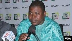 Paul Hounkpè, nouveau secrétaire exécutif au plan nation des FCBE, le 29 septembre 2019. (VOA/Bureau FCBE)