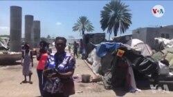 Ayiti: Plizyè Fanmi Ki Pran Refij you sou Plas Ditali Mande Prezidan Jovenel Moise Ede yo