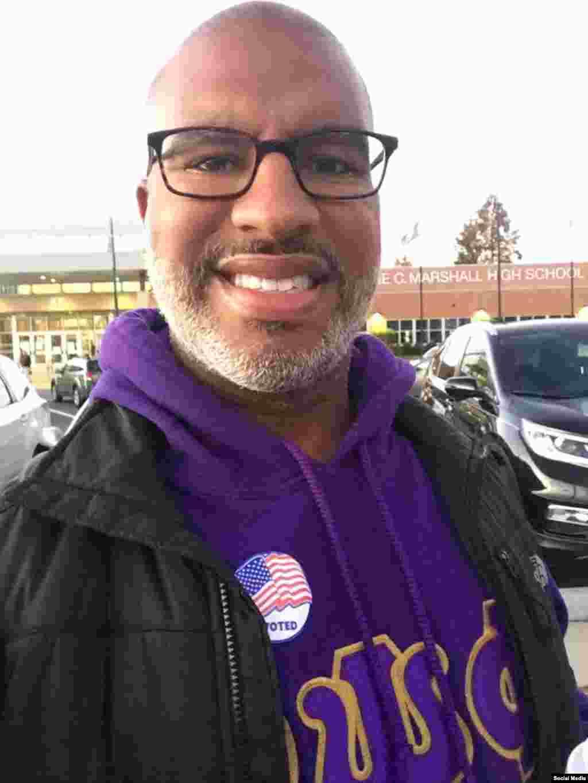 رای گیری انتخابات ریاست جمهوری آمریکا در ایالت ویرجینیا، عکس ارسالی: Marc Pina