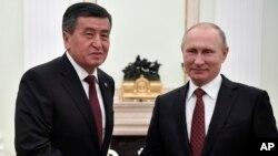 Qirg'iziston yangi rahbari uchun Rossiya eng muhim hamkor