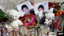 Slike žrtava ispred škole u Parklendu