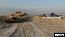 Un líder tribal en la provinvia iraquí de Anbar dijo que el Estado islámico está ganando terreno en el lugar.