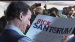2012-03-07 美國之音視頻新聞: 羅姆尼在俄亥俄州共和黨初選獲勝