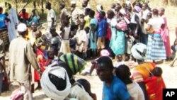Campo de refugiados de Doro no Sudão do Sul