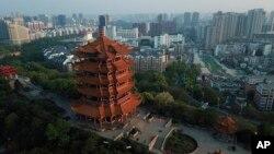 Birnin Wuhan, inda cutar corona ta samo asali.