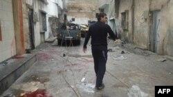 В провинции Хомс.