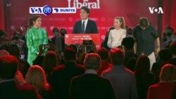 VOA60 DUNIYA: A Canada, Jam'iyyar Firai Ministan Canada Justin Trudeau Ta Lashe Kujeru Mafiya Yawa A Majalisar Dokokin Kasar