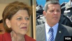Helen La Lime, Embaixadora dos Estados Unidos em Angola e Rui Falcão, Governador do Namibe