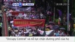 Hàng chục ngàn người Hong Kong phản đối nhóm ủng hộ dân chủ