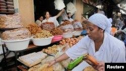 Une pâtisserie à Rabat (8 juillet 2013)