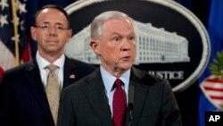 Jeff Sessions también secretario de Justicia decidió retirarse de la investigación sobre Rusia, luego que se revelara que no informó sobre una reunión que sostuviera con el embajador de Rusia en EE.UU.