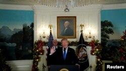 Президент Трамп проголошує, що США визнають Єрусалим столицею Ізраїлю