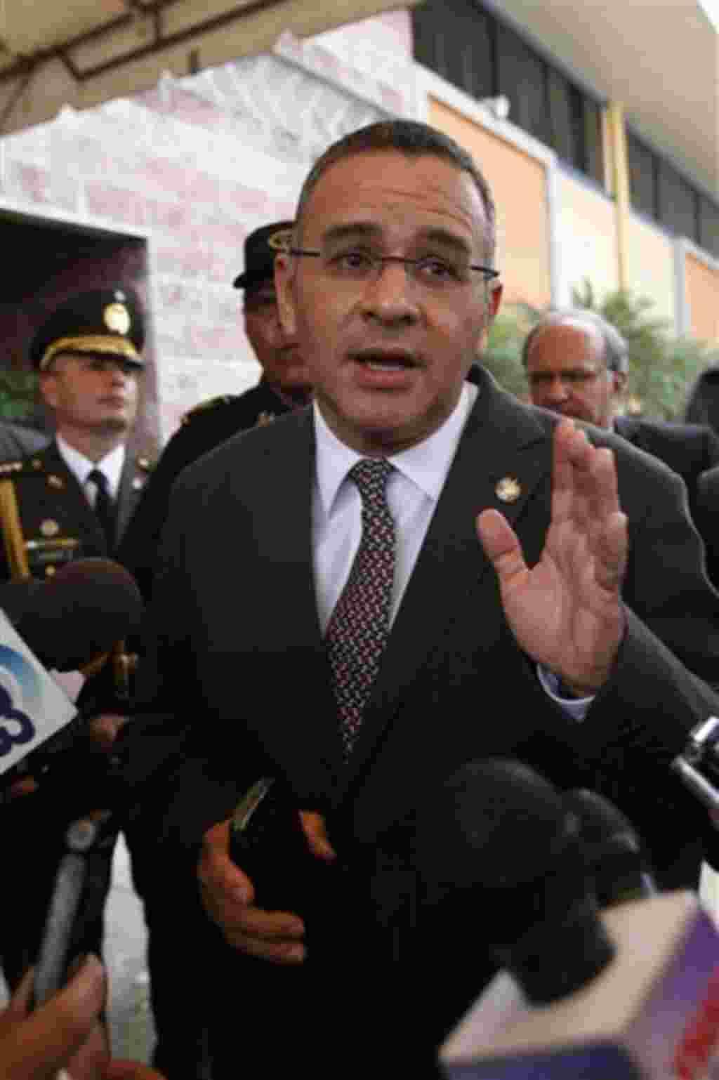 El Salvador: Mauricio Funes