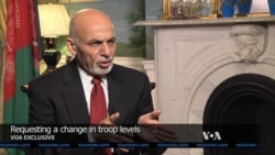 VOA Exclusive: Interview with Afghan President Ashraf Ghani