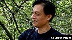中国民主活动人士、评论家江棋生(资料照片)
