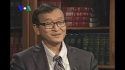 Sam Rainsy's Optimistic Over the Future of His Party (Camboda news in Khmer)