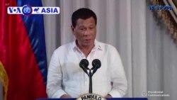 Ông Duterte có thể bị ung thư