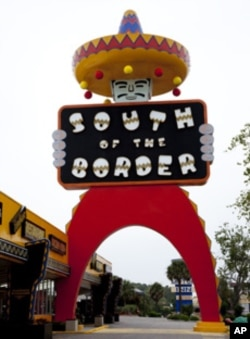 More than 60 years ago, this kitschy shopping oasis called, South of the Border, opened in South Carolina.