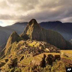 15th Century Inca Citadel at Machu Picchu, Peru