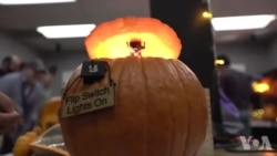 Rocket Scientists Create Pumpkin Designs Lights Out