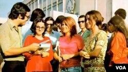 تصویری از فعالیت زنان در قبل از انقلاب سال ۵۷