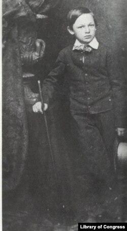 William (Willie) Wallace Lincoln portrait by Matthew Brady