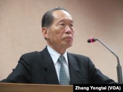 台湾执政党国民党立委陈镇湘(美国之音张永泰拍摄)