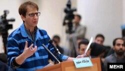 بابک زنجانی در جلسه دادگاه
