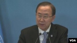 联合国秘书长潘基文(美国之音视频截图)