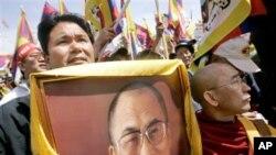 达赖喇嘛的侄子晋美诺布(资料)