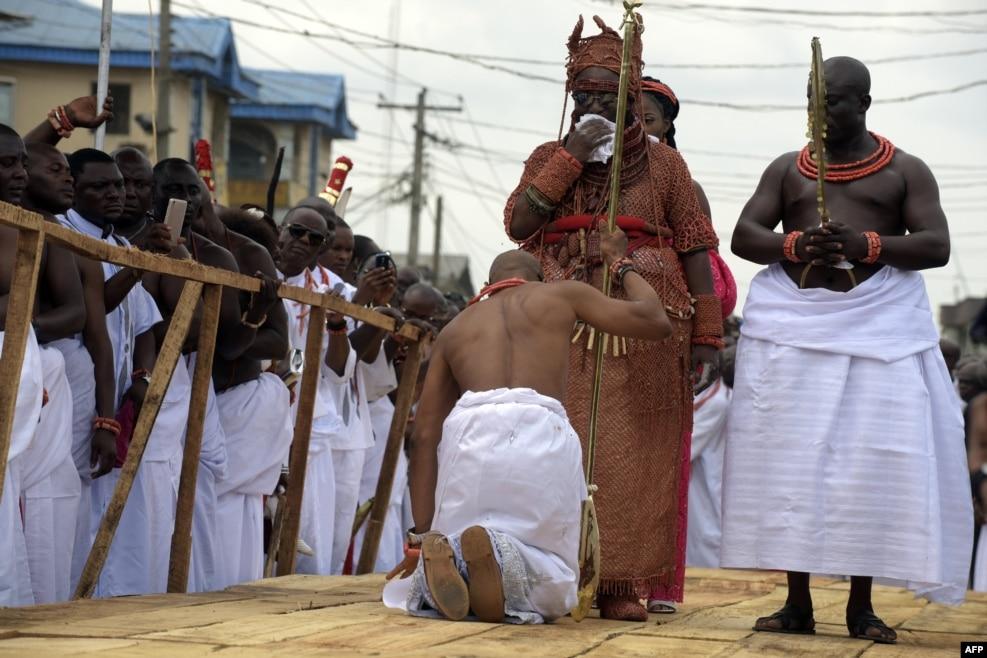 Nigeriya - Beninin 40-cı moranxı Oba Evuare II.