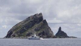 Nhóm đảo đang trong vòng tranh chấp mà Nhật Bản gọi là Senkaku và Trung Quốc gọi là Điếu Ngư.