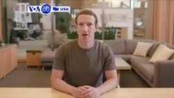 VOA60 America - Trump Questions Facebook Decision to Provide Congressional Investigators with Ads Linked to Russia