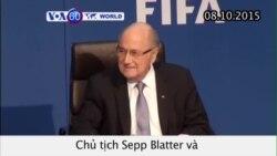 FIFA đình chỉ chức vụ Chủ tịch Sepp Blatter (VOA60)