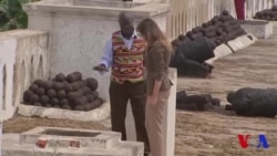 Melania Trump a visité un ancien centre de détention d'esclaves au Ghana (vidéo)