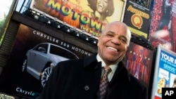 FILE - This March 5, 2013 photo shows Berry Gordy posing for a portrait in Times Square in New York.