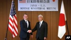 امریکہ اور جاپان کے وزرائے دفاع کی ٹوکیو میں ملاقات