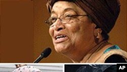 2011 Nobel Peace Prize winners from left: Tawakkul Karman of Yemen, Liberian peace activist Leymah Gbowee and Liberia's President Ellen Johnson Sirleaf.