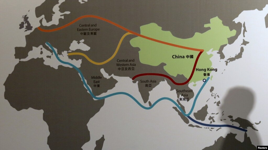 Will Chinas Belt and Road Projects Ease Disputes in the Middle East