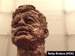 Busto de John F. Kennedy, en el Centro Kennedy para las Artes, en Washington D.C.